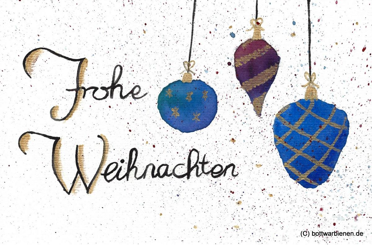 Frohe Weihnachten und alles Gute für das neue Jahr!