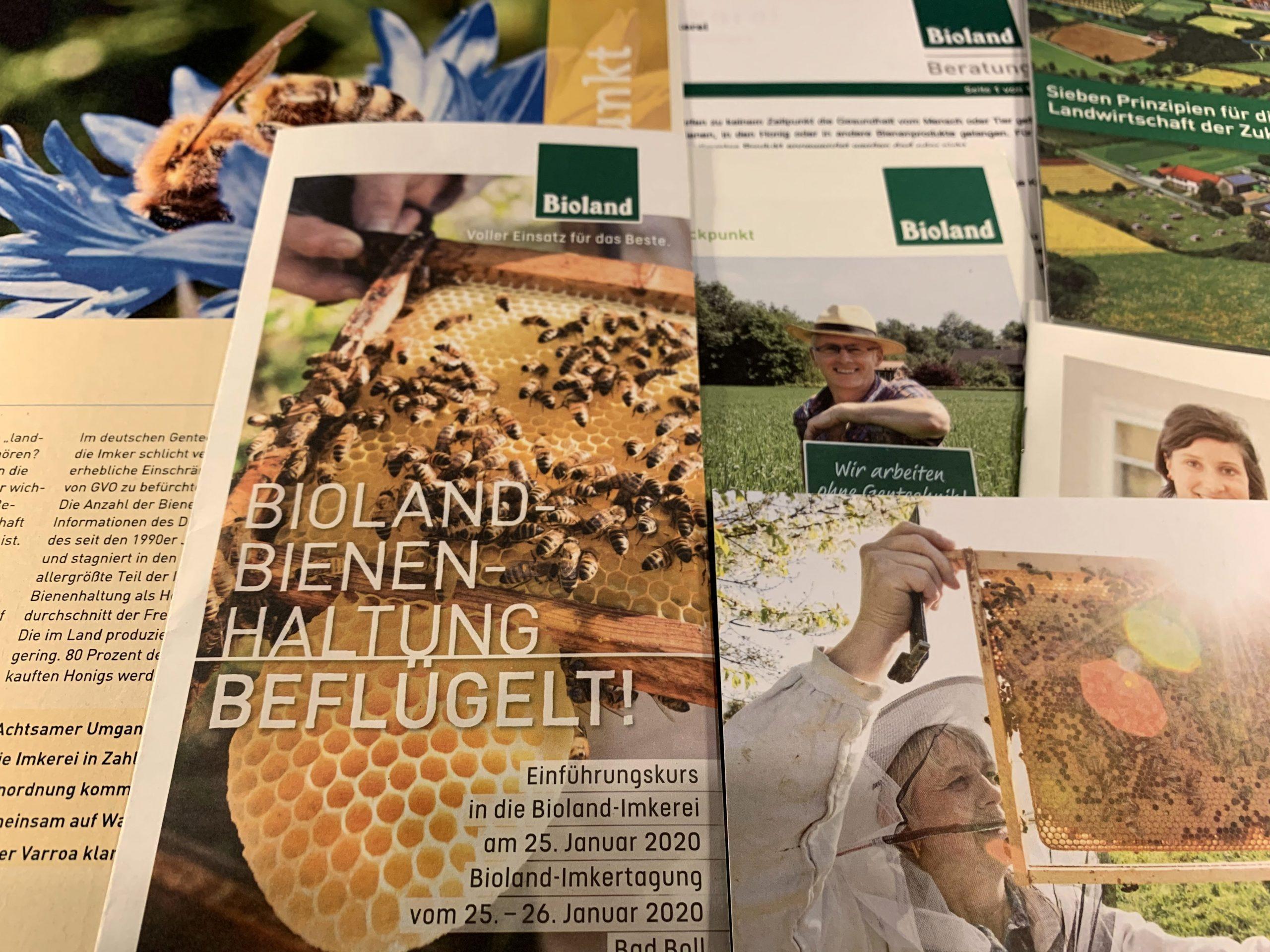 Einführung in die Bioland-Imkerei, Seminar im Januar 2020 in Bad Boll